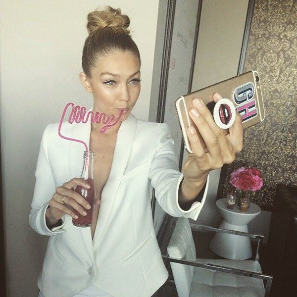 Gigi Hadid loves her PopSocket