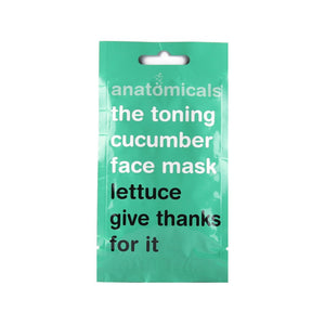 Toning Cucumber Face Mask 15 ml
