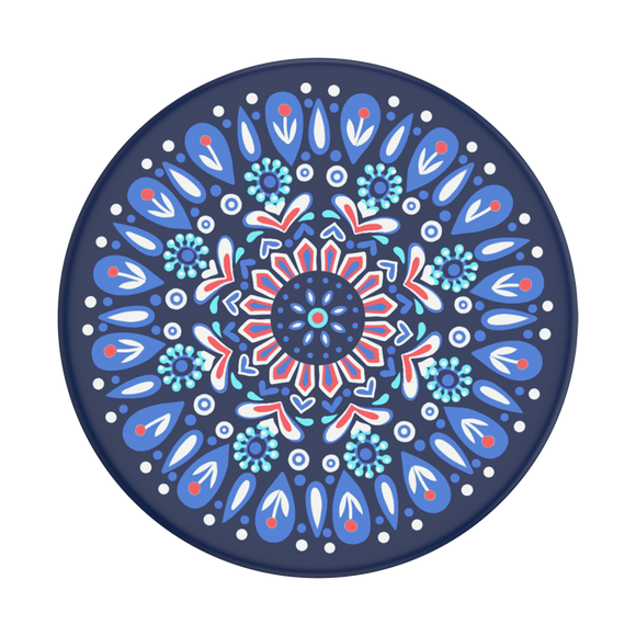 Butterfly Mandala Blue