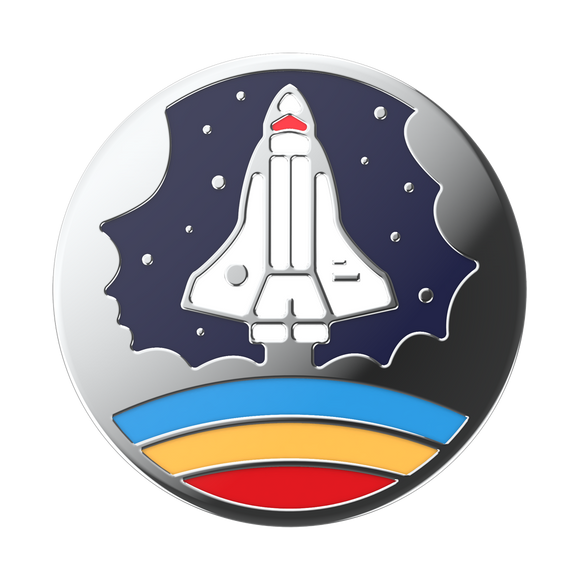 Enamel Space Shuttle