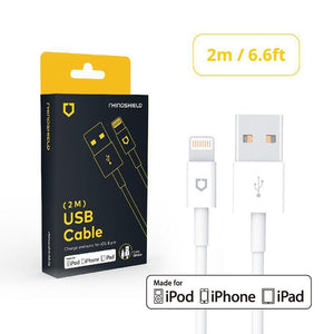 RhinoShield - Apple Mfi Lightning to USB Charging Cable - 2 metre