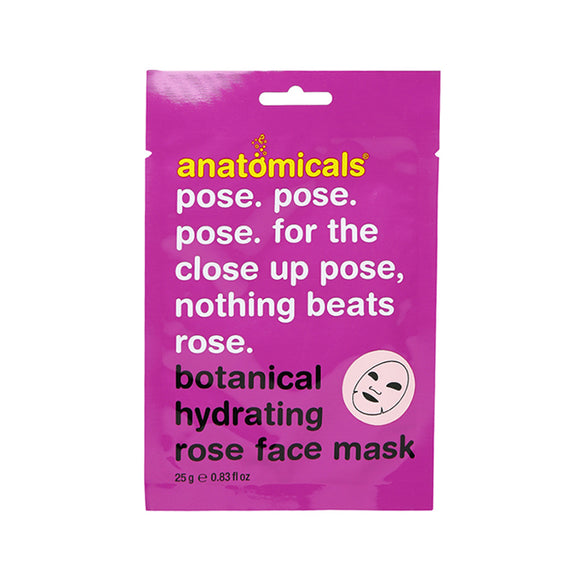 Rose Botanical Cloth Face Mask 25ml