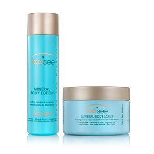 See See - Body Scrub and Body Lotion Combo