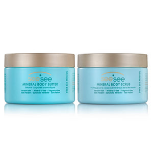 See See - Body Scrub and Body Butter Combo