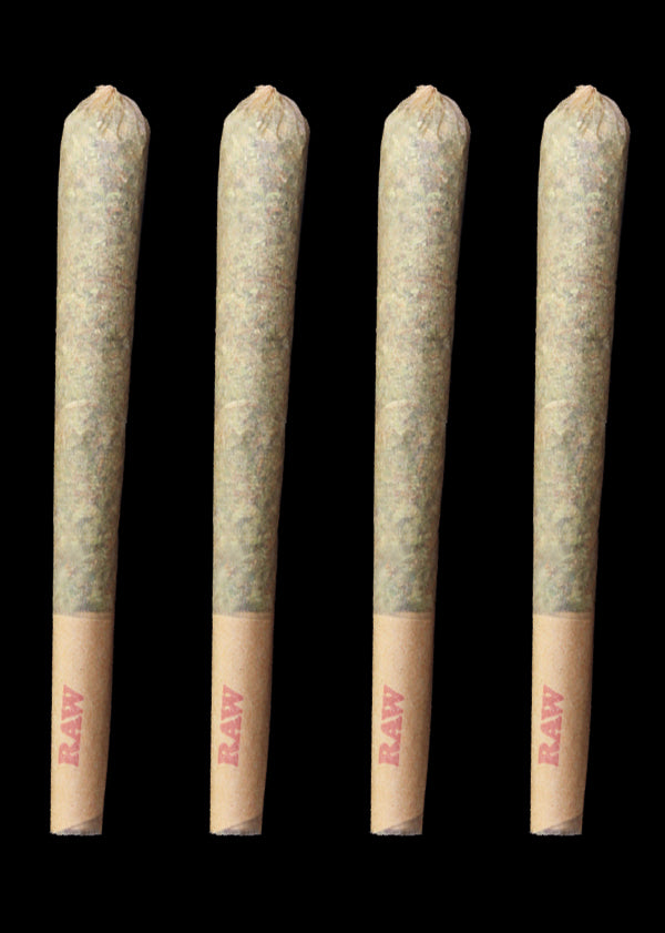 GL Caviar Loud Pack 4 Joints - Hybrid, Indica, or Sativa