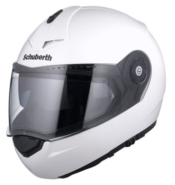 SpesaUK - Schuberth C3 Pro Gloss White Large 58/59 Motorcycle Helmet