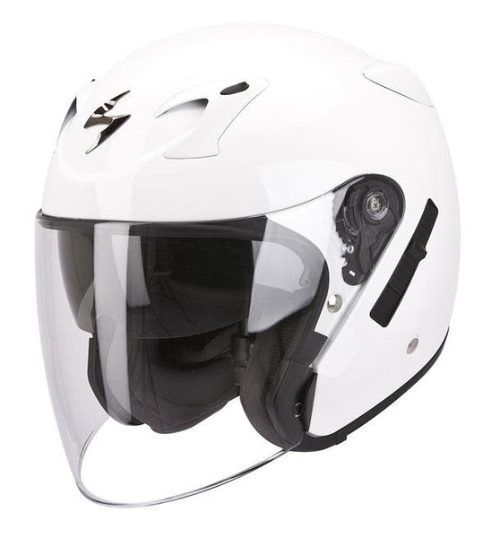 SpesaUK - Scorpion Helmet Exo 220 Gloss White Small