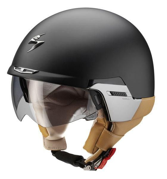SpesaUK - Scorpion Helmet Exo 100 Padova Matt Black Medium
