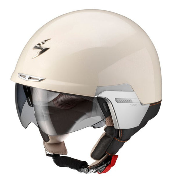 SpesaUK - Scorpion Helmet  Exo 100 Padova Cream Small