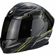 SpesaUK - Scorpion Helmet Exo 920 Satellite Black / Yellow Large