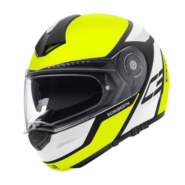 SpesaUK - Schuberth Helmet C3 Pro Echo Yellow Small 55