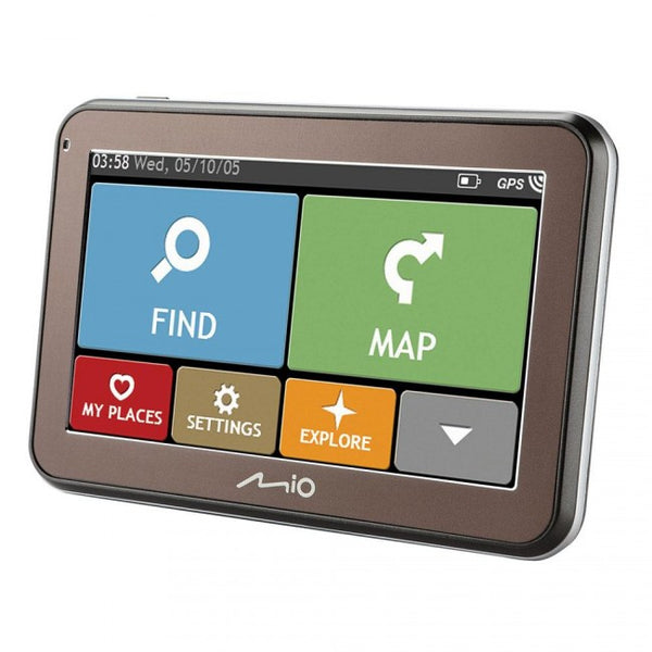 "SpesaUK - Mio Spirit 5100 4.3"" Full European GPS Sat Nav 44 Country Mapping IQ Routes"