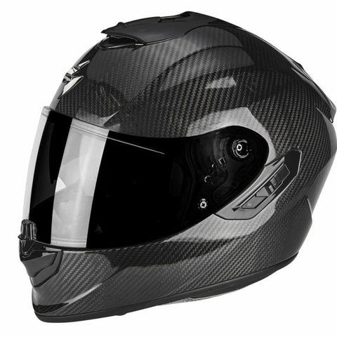 SpesaUK - Scorpion Exo 1400 Carbon Medium Black Motorcycle Helmet