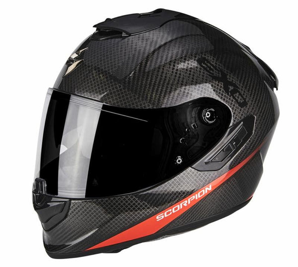 SpesaUK - Scorpion Helmet Exo 1400 Pure Red Large 1Nr
