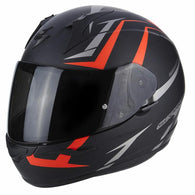 SpesaUK - Scorpion Helmet Exo 390 Hawk Black / Red Small