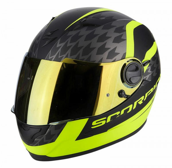 SpesaUK - Scorpion Helmet Exo 490 Genesi Black / Yellow Small