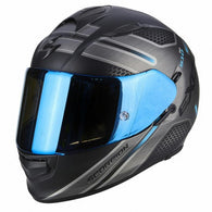 SpesaUK - Scorpion Helmet Exo 510 Route Black / Blue Small 3Bl