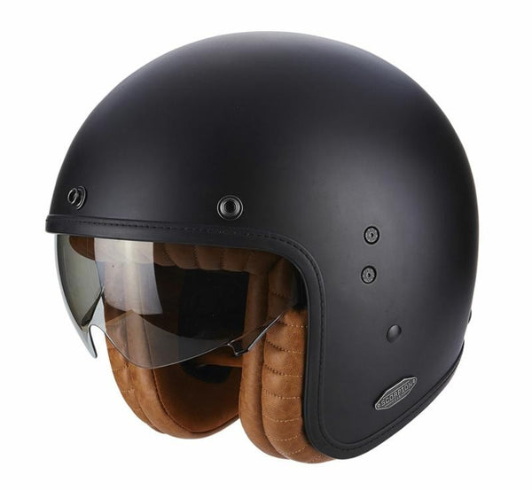 SpesaUK - Scorpion Helmet Belfast Matt Black Luxe Medium