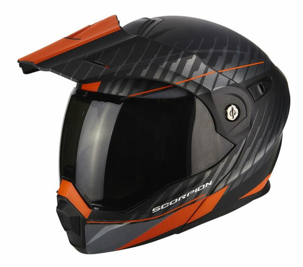 SpesaUK - Scorpion Helmet Adx-1 Dual Orange / Black Small