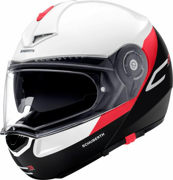 SpesaUK - Schuberth C3 Pro Gravity Red Small 55 Motorcycle Helmet