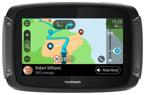 SpesaUK - Tom Tom Rider 550 World Motorcycle GPS Sat Nav With Lifetime World Maps