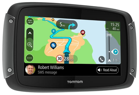 SpesaUK - Tom Tom Rider 550 Premium Motorcycle GPS Sat Nav With Lifetime World Maps