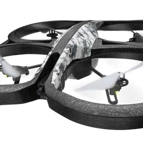 SpesaUK - Parrot AR Drone 2.0 Snow WiFi Elite Edition Quadricopter Compatible With iOS
