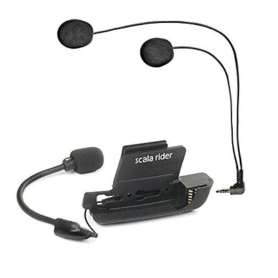 SpesaUK - Cardo Scala Rider Helmet Audio & Microphone Kit with Dual Mic for G9 G9x & G4