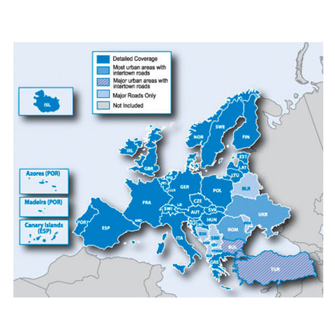 SpesaUK - GARMIN SD EU MAPPING 45 European Countries On Micro SD Card