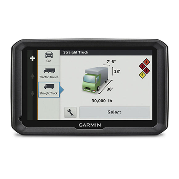 SpesaUK - Garmin Dezl 770LMT-D 7 LCD Truck HGV GPS SAT NAV Europe Maps & Digital Traffic