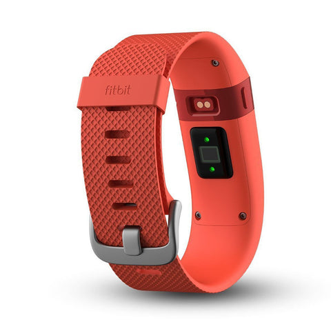 SpesaUK - Fitbit Charge HR Tangerine Wireless Activity Fitness Sleep Tracker Band Large