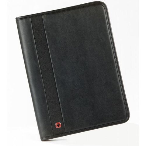 SpesaUK - Wenger Folio Trader Bi-Folio Business Card Notepad Case Folder in Black