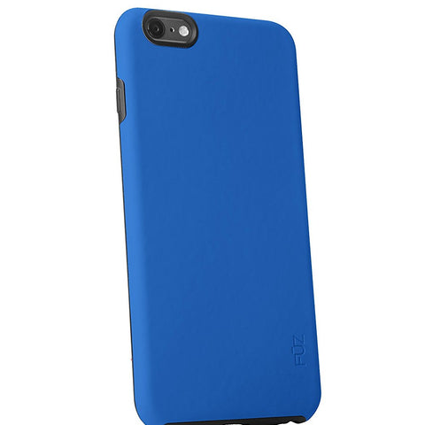 SpesaUK - Fuz Apple iPhone 6 Plus Blue Mobile Phone Case Rubber Hardcover Protective