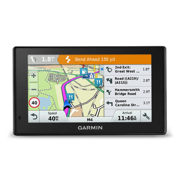 SpesaUK - Garmin DriveSmart 50 LMT-D Satellite Navigation with Full UK & IRE Lifetime Maps