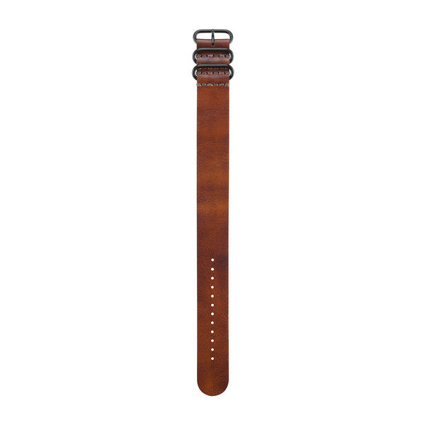 SpesaUK - GARMIN BROWN LEATHER STRAP