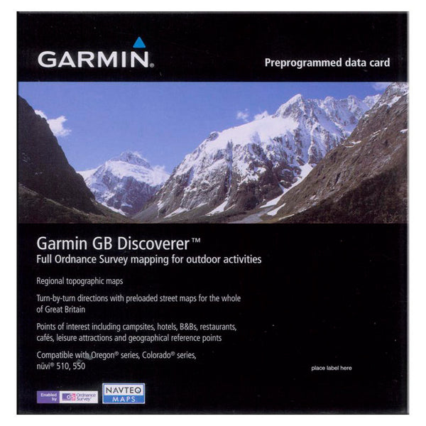 SpesaUK - GARMIN DISCO GB 1:50K
