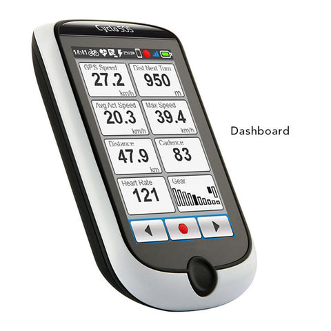 SpesaUK - Mio Cyclo 315 HC Heart Rate and Cadence GPS Cycling Bike Computer UK Europe Maps