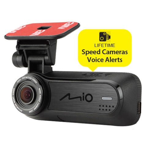 SpesaUK - Mio Mivue J85 Integrated Wifi Full HD 1080p Front Dashcam With GPS Tracking