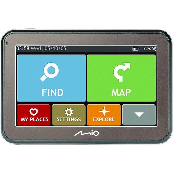 "SpesaUK - Mio Spirit 5670 LM 4.3"" Full European GPS Sat Nav 44 Country Lifetime Mapping"