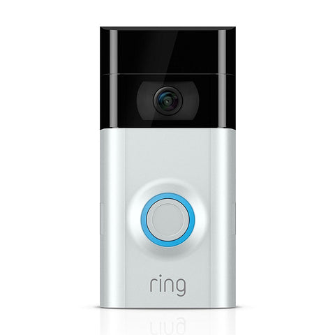 SpesaUK - Ring Video Doorbell 2 Motion Activated 1080p HD Video 2 Way Talk Night Vision Cam