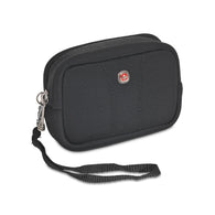 SpesaUK - Wenger Legacy Black Medium Camera Case For Canon Elph, Powershot & Nikon Coolpix