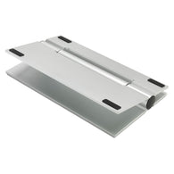 SpesaUK - SoundXtra Tilting Universal Table Desktop Speaker Stand for SoundBar Wide Silver
