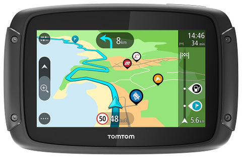 SpesaUK - TomTom Rider 500 Motorcycle Sat Nav GPS, Lifetime Europe Maps BT & Wifi Updates