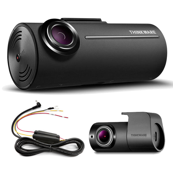 SpesaUK - Thinkware F100 2CH Front & Rear Dash Cam Drive Recorder Full HD 1080p Hardwire