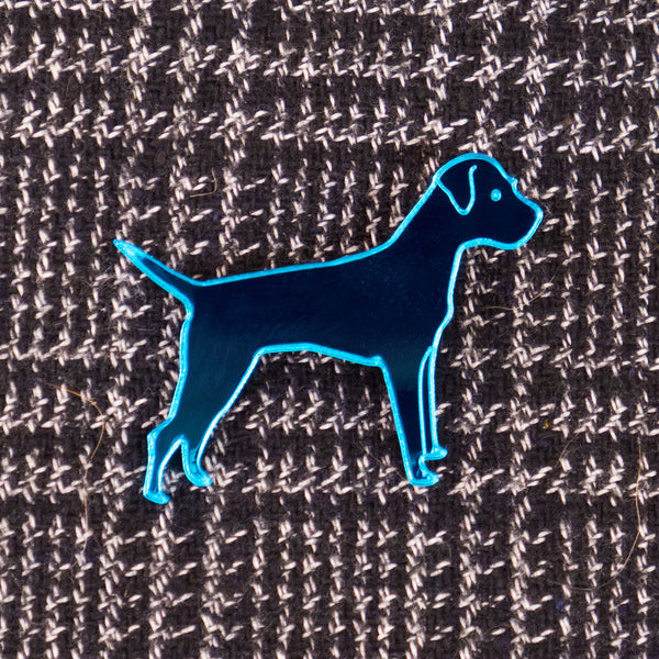 Blues Rok Kingpin - Border Terrier pin