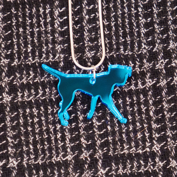 Blues Rok Border Terrier Necklace