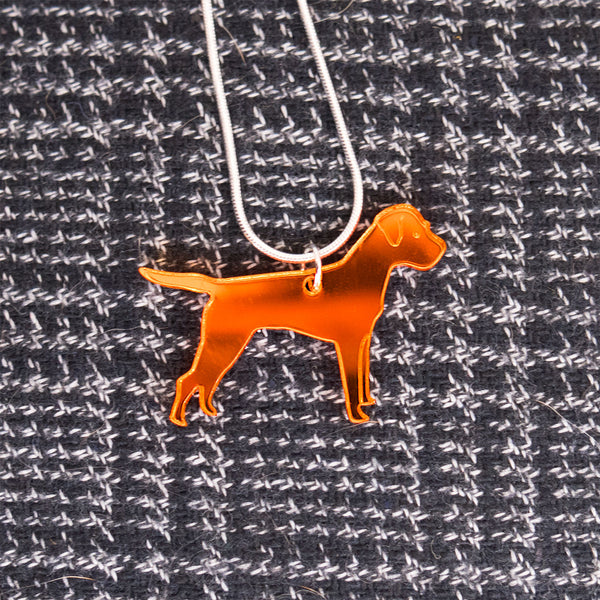 Border Terrier necklace jewellery