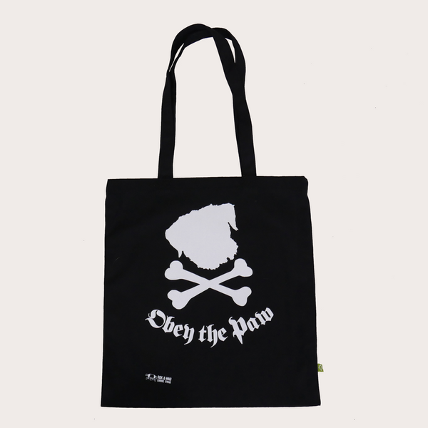 Obey the Paw - tote bag