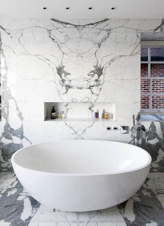 8 Best Luxe Marble Bathroom Design Ideas