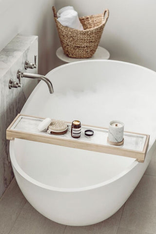 Simple & Elegant Bath Caddy Built To Last | Harpers Project